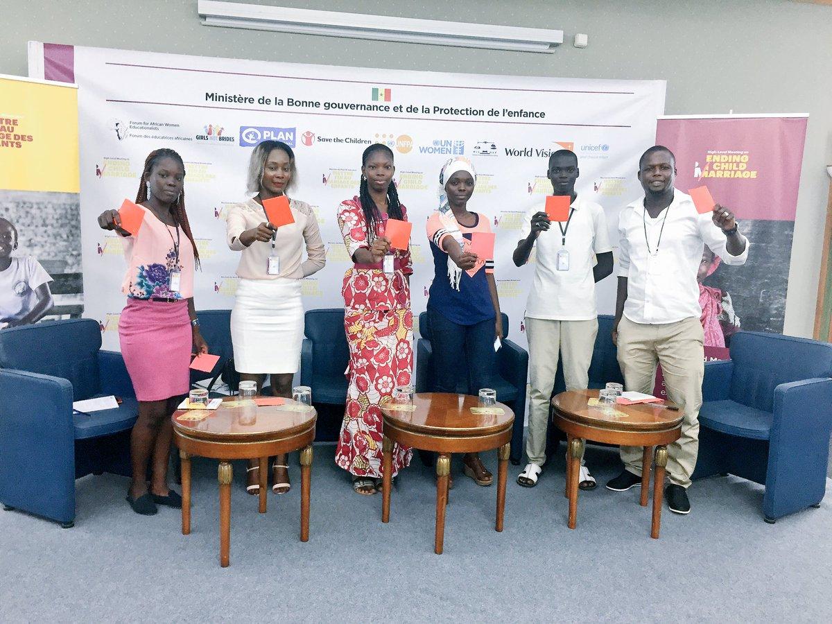 10 recommandations des jeunes pour mettre fin au mariage des enfants en Afrique