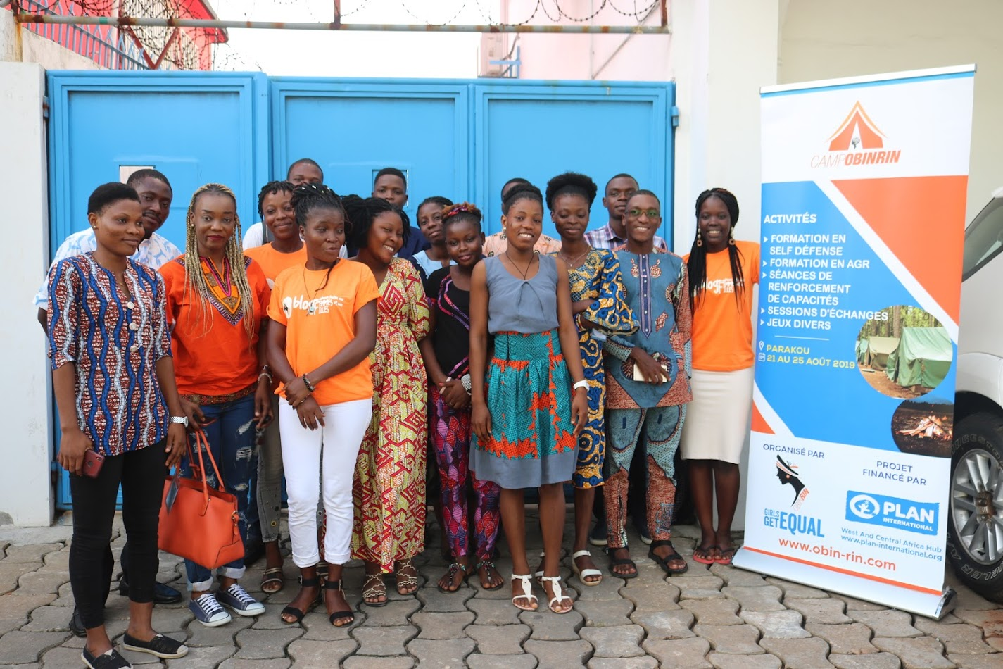 Camp Obinrin 2019 : des adolescentes-filles à outiller pour la promotion de leurs droits
